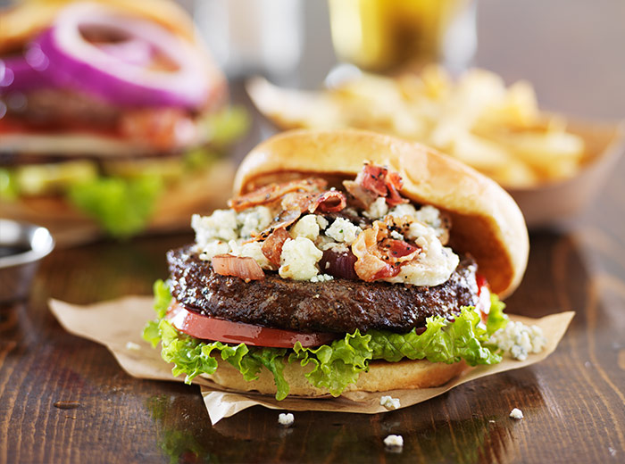 Bleu Cheese Bacon Burger